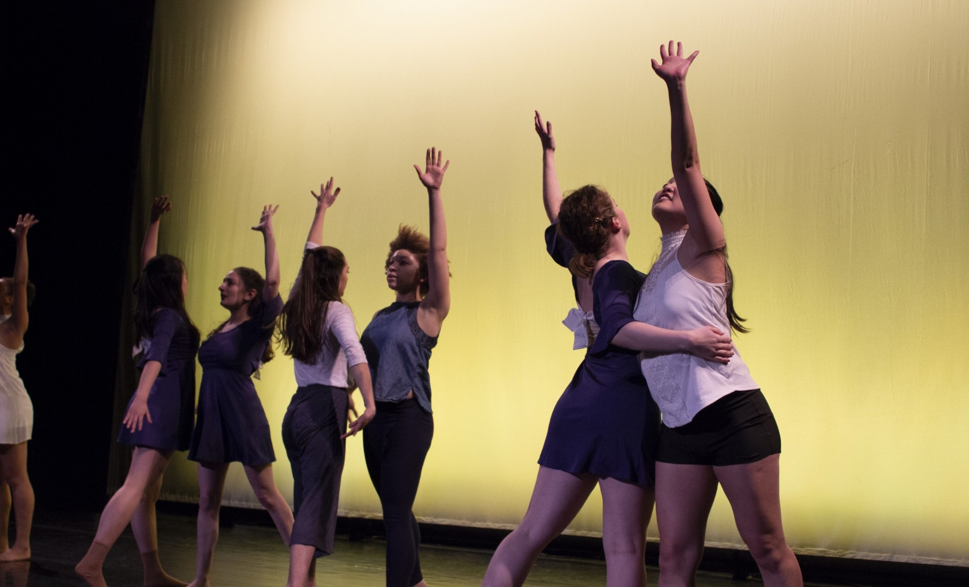 Dancers from our Fall 2019 show (credit: Jillian Roche)